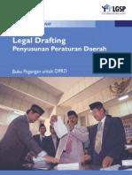 Buku Legal Drafting Penyusunan Peraturan Daerah