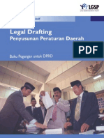 Buku Legal Drafting Penyusunan Peraturan Daerah