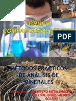 MÉTODOS  PRÁCTICOS DE ANÁLISIS DE MINERALES