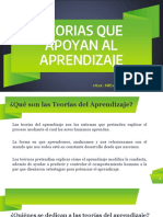 TEORÍAS QUE APOYAN AL APRENDIZAJE-FRACASO ESCOLAR SPS-901