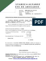 ALIMENTOS - PROPUESTA DE LIQ - YAURICADA HUAMAN