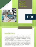 Normas Oficiales Mexicanas.pptx