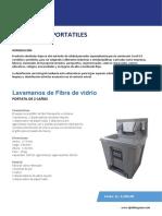 LAVAMANOS PORTATILES - CATALOGO