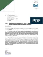 DM#3900357 - Procedural request - 200804-Bell Mobility - TNC 2019-57 - Competition Bureau Matrix Report - ATT_ABR.pdf
