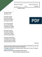Atividades Artes-Filosofia - Poema 3° ano (20.07)
