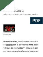 Motocicleta - Wikipedia, la enciclopedia libre.pdf