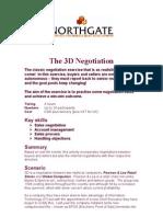 3 D negociation