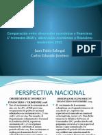 Comparación entre observador económico y financiero 1°
