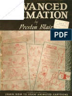 Preston Blair Advanced Animation 1947 First Edition
