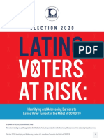 Latino Voters at Risk