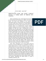 [11] Metropollitan Bank and Trust Company vs. Rural Bank of Gerona, Inc. (G.R. No. 159097)