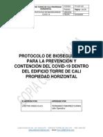 protocolo bioseguridad propiedad horizontal