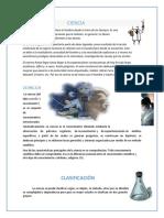 CIENCIA, CALSIFICACION Y METODOS original