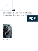 Gandalf  frases y citas (italiano)