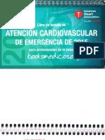 Libro de bolsillo de Atencion Cardiovascular de Emergencia de 2015