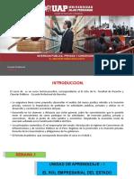 SEMANA 2 EL PAPEL REGULADOR DEL ESTADO Y TRATAMIENTO CONSTITUCIONAL DE LA INVERSION