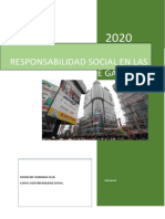 Trabajo de Responsabilidad Social - Las Pymes en Emporio Comercial Gamarra