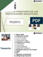 SUNAT Regimen Tributario Instituciones Educativas