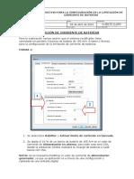 Instructivo para la Configuración de Limitación de Corriente de Baterías del Sistema FP2