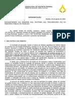Jorge Vianna aciona MPDFT para garantir pagamento de 13° salário dos profissionais do IGESDF