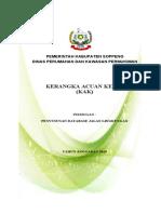 Kak Database Jalan Lingkungan