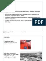 Part 8 - Failure (Fracture, Fatigue)