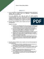 BORJAS, M - FORO N° 03. MC&DP