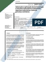 NBR 5530 TB 11-I - Elaboracao e aplicacao da terminologia de veiculos rodoviarios e industriais m.pdf