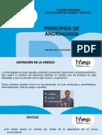 5. 1. PRINCIPIOS DE ANDRAGOGIA