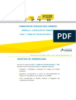 Lição I Código de Trânsito Brasileiro