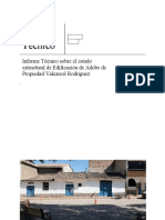 Informe Tecnico Inspeccion Vivienda