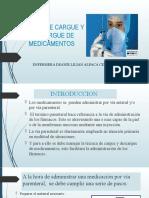 TECNICA DE CARGUE Y DESCARGUE DE MEDICAMENTOS
