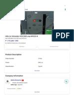 440v Ac Schneider ACB 2500 amp MVS25 N, Rs 115100 _unit Mehta Enterprise _ ID_ 15326724248