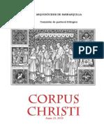 Guion Corpus Christi Parroquial 2019