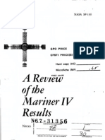 A Review of the Mariner IV Results