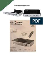 Proyector OptiXView X80 Pro Smart