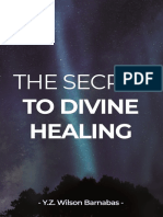 The Secret to Divine Healing (Preview Chapter 1)