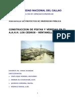 proyecto de publicos AA.HH Los Cedros