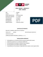 Final project - Inglés 4