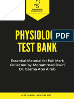 Test Bank Physiology