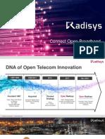 Radisys Broadband Access Overview v1