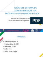 ACTIVACION DEL SEM EN PACIENTES CON SOSPECHA DE ACV