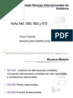 MEMORIAS  NIA 550, 560, 570 y 580 1