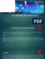 DUE DILIGENCE - CLASES