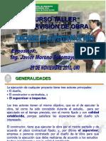 FUNCIONES DEL SUPERVISOR DE OBRA - ING. JAVIER MORENO SOTOMAYOR.ppt