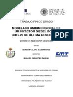 VALERA - MODELADO UNIDIMENSIONAL DE UN INYECTOR DIESEL BOSCH CRI 2.25 DE ÚLTIMA GENERACIÓN.pdf