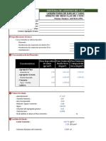 Diseño de Concreto (Hoja de cálculo)