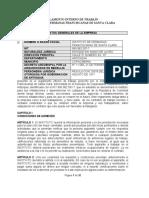 REGLAMENTO INTERNO DE TRABAJO PARA APROBACION (1)
