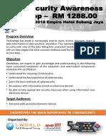 Cyber Security Awareness_2019