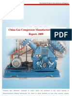 China Gas Compressor Manufacuring Industry_2009
